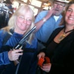 Cheri and the Gun Raffle Lady
