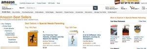 Amazon Best Seller 4.29.13