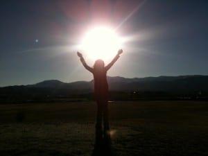 Lillian Holding Sun 4.23.13