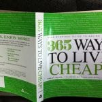 365 Ways to Live Cheap Book