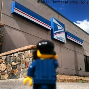 LEGO Photographer USPS 5.9.14