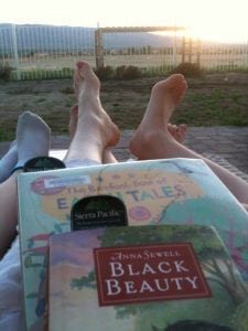 Sunset Reading 5.9.13