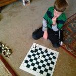 Thomas Playing Chess May 24 2014
