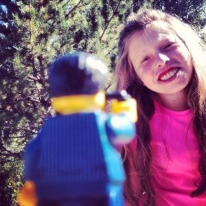Mini figure LEGO Taking Photo of Lillian 11.2014