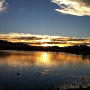 sunset-at-vintage-lake-with-poem-august-2016