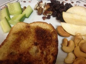 Lillian Cinamon Toast Meals January 2017