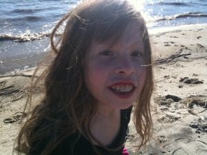 Lillian at Washoe Lake 2012
