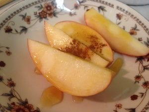 Thomas Fruit Apple, Honey, Cinamon Meals January 2017