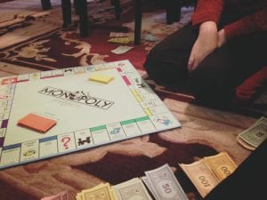 Date Day with Thomas February 2017 2.20.17 Monopoly