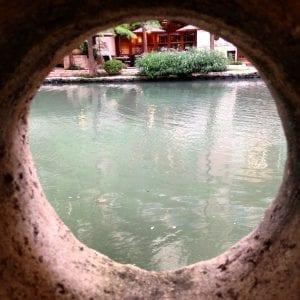 Looking Through To River San Antonio 7.2016
