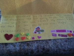 Thomas Valentine to Lillian 2.12.12