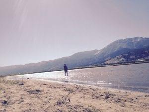 Thomas at Little Washoe Lake September 2016 #1