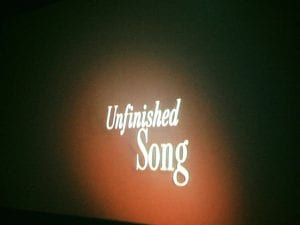 Unfinished Song Movie 2.18.17