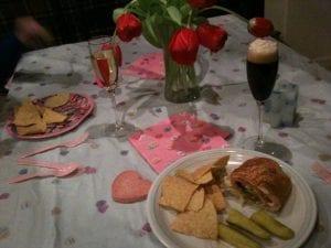 Valentine's Dinner 2.14.12
