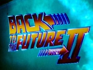 Back to the Future Part II Movie 2.25.17
