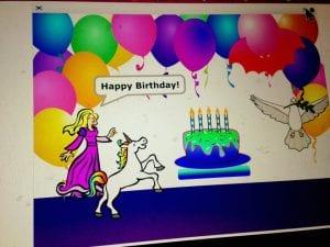 Birthday Present from Lillian 2.26.17