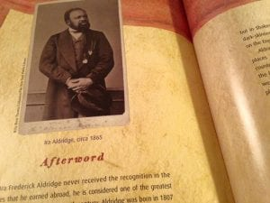 Ira Aldridge Book March 2017