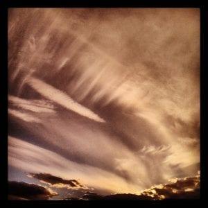 Reno Sunset 2.21.14