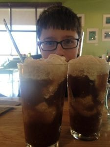 Thomas and Camilla Date Day March Root Beer Float 3.13.17 #16