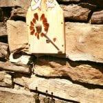 Beach Glass Dandelion Wind Chime 4.14.17 #1