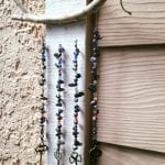 Pearl and Skeleton Key Wind Chime April 2017 #4