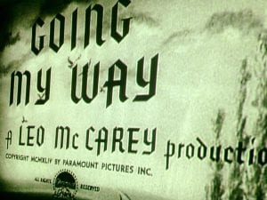 Going My Way Movie May 2017