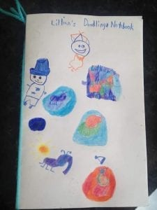 Lillian's Doodling Notebook May 2017