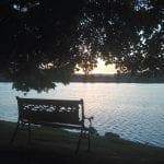 Sunset Walk with Lillian Vintage Lake 5.21.17 #2