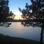 Sunset Walk with Lillian Vintage Lake 5.21.17 #6