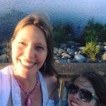 Walk with Lillian Vintage Lake Sunset 6.15.17 #1