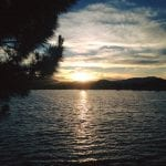 Walk with Lillian Vintage Lake Sunset 6.15.17 #4