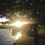 Walk with Lillian Vintage Lake Sunset 6.15.17 #6