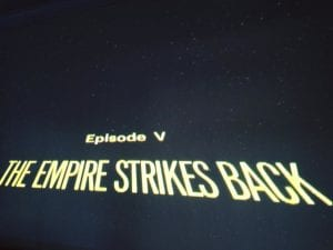 Empire Strikes Back Movie 2017