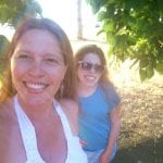 Lillian and Camilla Sunset Walk Vintage Lake 6.26.17 #6