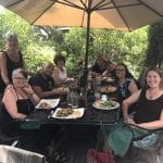 Lunch with Kimberly and Friends 7.23.17