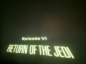 Return of the Jedi Movie 7.22.17