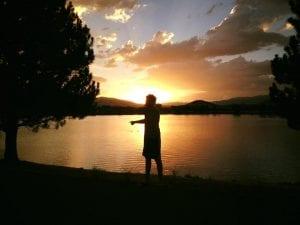 Sunset Walk Vintage Lake 7.24.17 #4