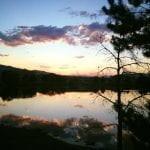 Sunset Walk with Lillian The Vintage Lake 7.31.17 #4