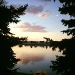 Sunset Walk with Lillian The Vintage Lake 7.31.17 #7