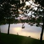 Sunset Walk with Thomas Vintage Lake 8.4.17 #4