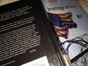 Immigration Book Thomas Reading 9.2017
