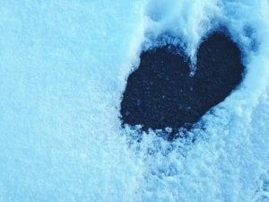 Melting Snow Heart 2017
