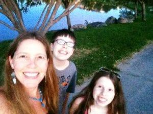 Sunset Walk All of Team TLC Vintage lake 8.13.17 #3