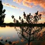 Sunset Walk with Lillian Vintage Lake 8.29.17 #2