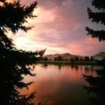 Sunset Walk with Lillian Vintage Lake 8.29.17 #7