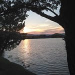 Sunset Walk with Thomas Vintage Lake 8.10.17 #1