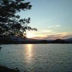 Sunset Walk with Thomas Vintage Lake 8.10.17 #2