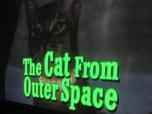 The Cat from Outer Space Movie 2017