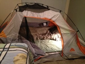 Thomas Tent in Bedroom 8.24.17