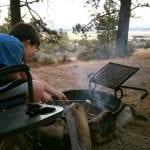 Thomas and Camilla at Davis Creek Campground 9.10.17 #3